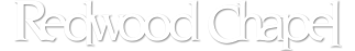 Redwood Chapel Footer Logo
